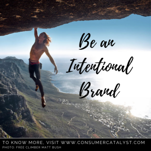 Be An Intentional Brand